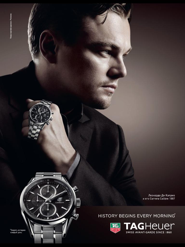 TAG Heuer | My Style | Leonardo DiCaprio, Tag heuer ...