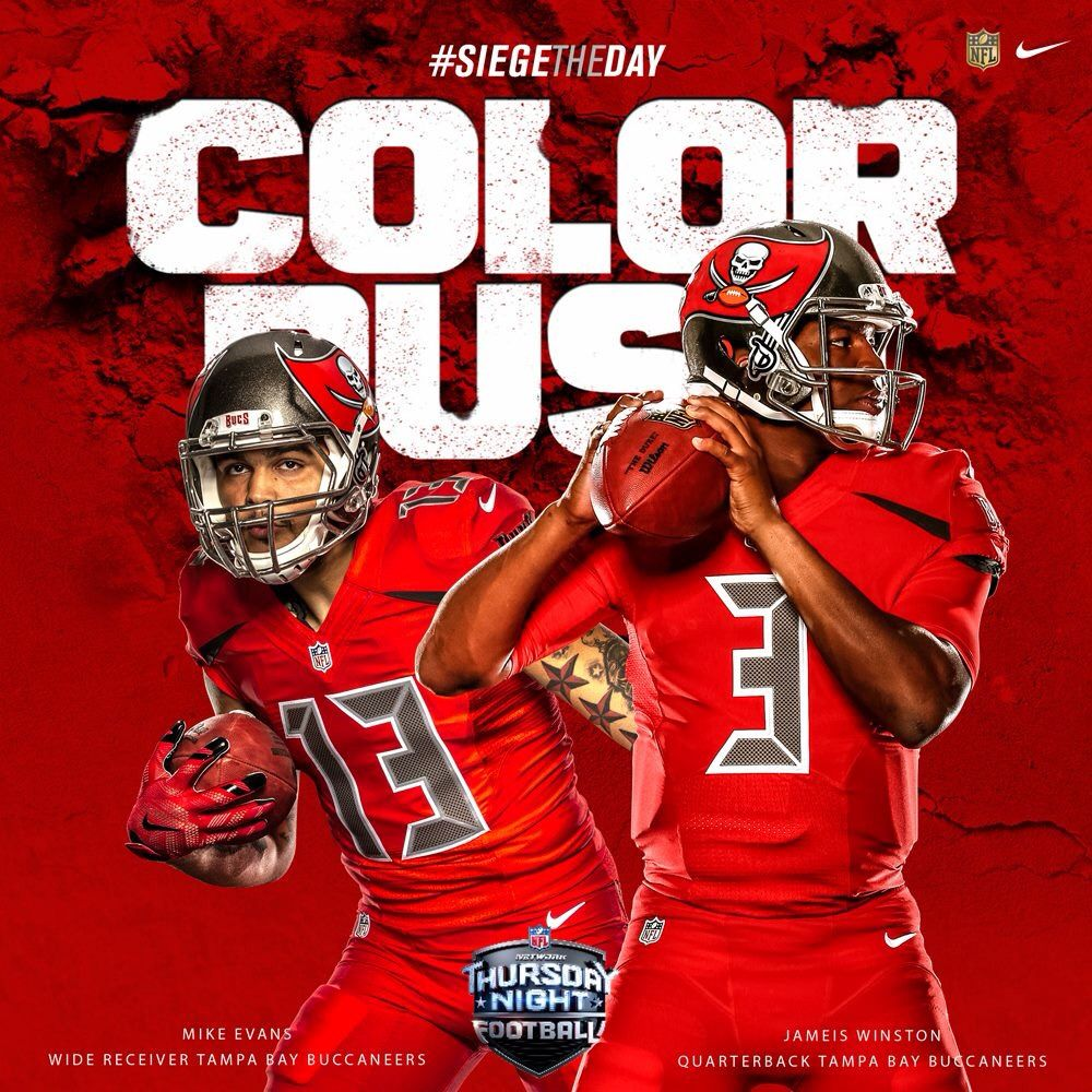 Tampa Bay Color Rush Tampa Bay Buccaneers Football Reference Football Memes