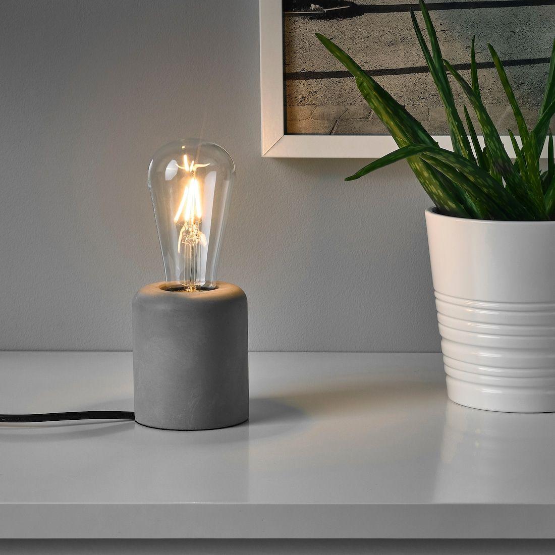 RÅSEGEL Table lamp IKEA in 2020 Decorative light bulbs