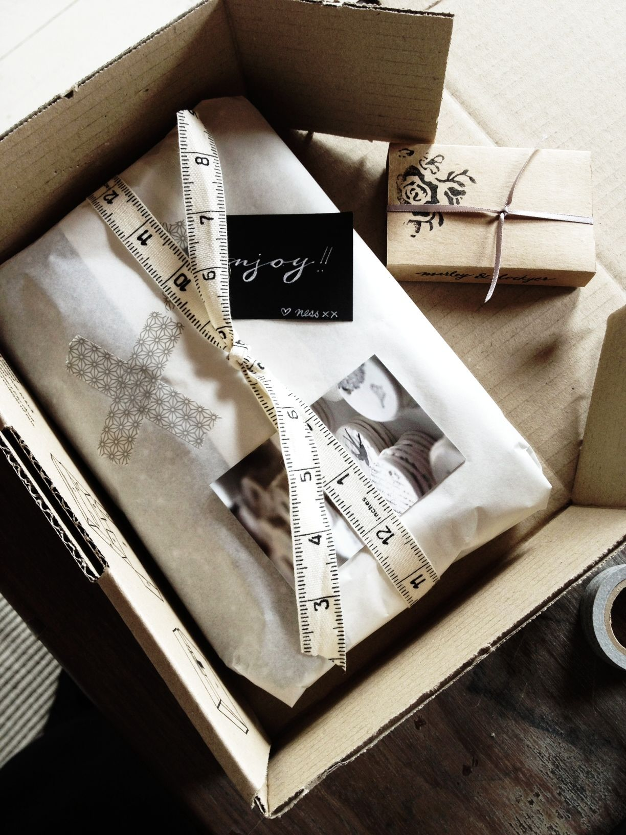 marley & lockyer wrapping ❥ Simple and beautiful #packaging PD