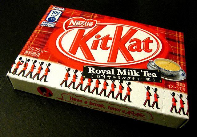 Royal Milk Tea Kit Kat
