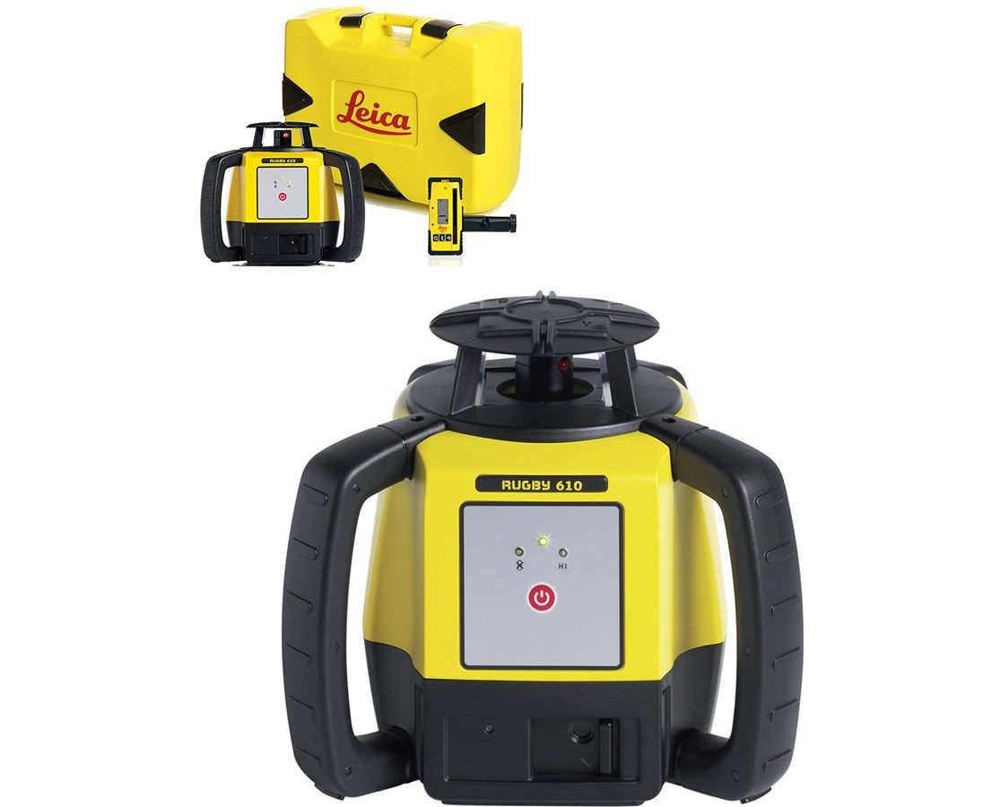 Leica Rugby 610 Rotary Laser Level 6011150 Price 800 00 Ideal For All General Construction Applications The L Laser Levels Leica Construction Applications