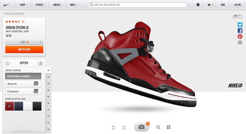 Cool Custom Jordan shoes http://shoesliving.com/customize-your-