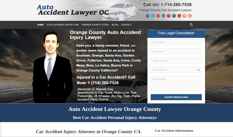 Orange county auto accident injury lawyer orangecounty