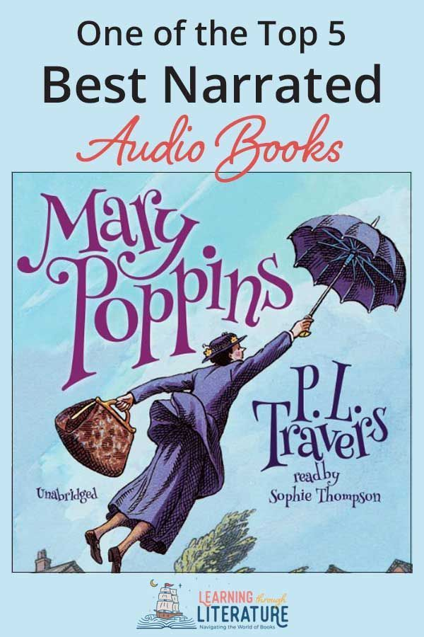If you're looking for the best narrated living audio books then you will love this  version of Mary Poppins read by Sophie Thompson. Thompson  bring the the world's favorite nanny, and her magical adventures with the Banks family to life!  #bestaudiobooks