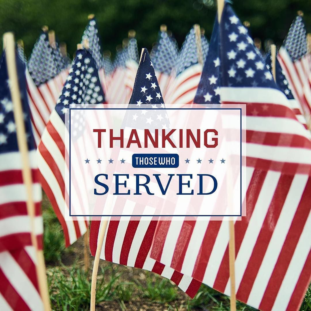Veterans day is the perfect day to remember how thankful
