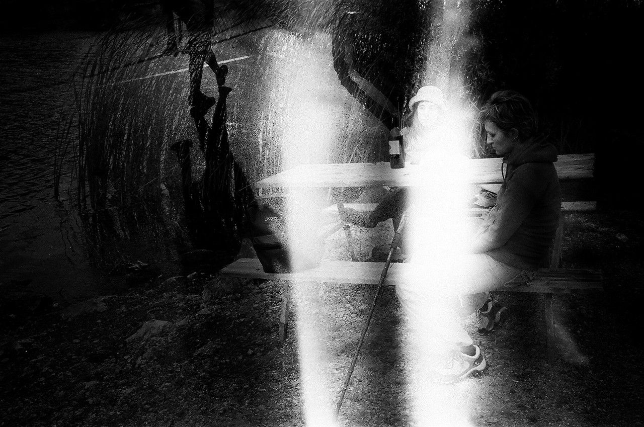 evrenozesen:  double exposure + accident in the dark room  Thank you for your biutiful submission.