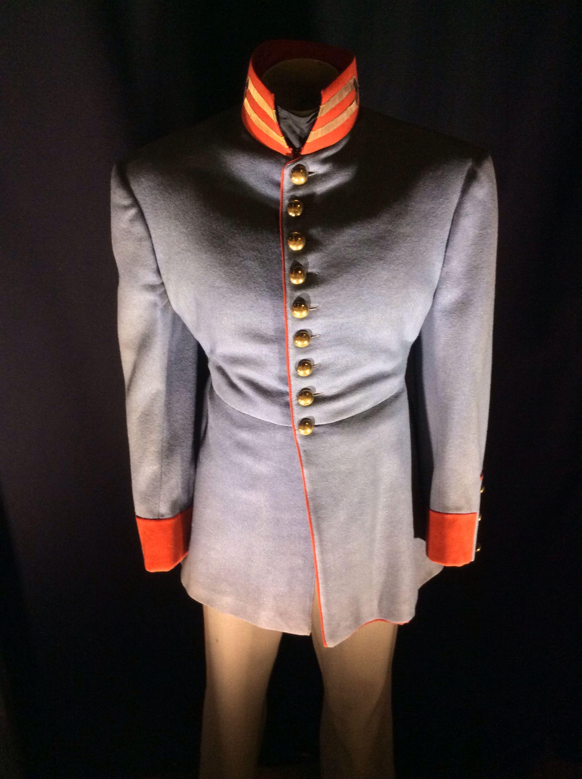 Gone with the Wind Atlanta Bazaar Uniform worn by an extra.