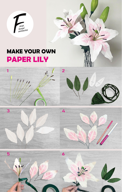 Calla Lily Paper Flower Paper Flower Wedding paper flower bouquet paper flower wall decor paper flower arrangement paper flower centerpiece