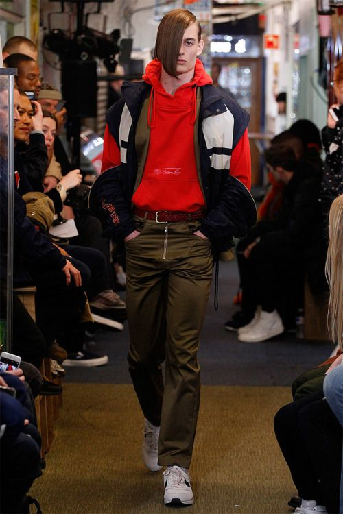 Martine Rose FW17.  menswear mnswr mens style mens fashion fashion style runway martinerose