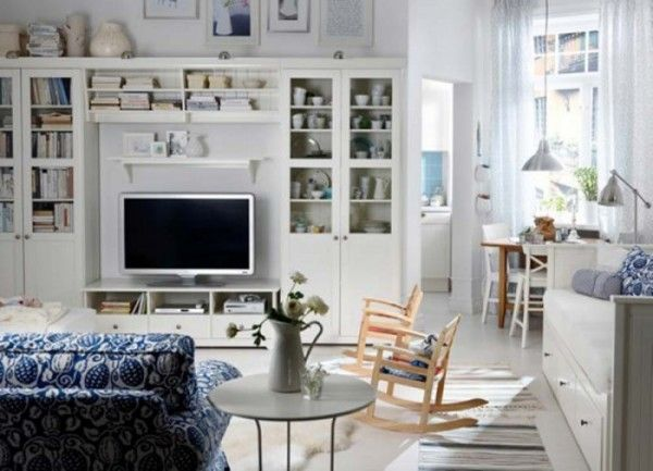 Stile Shabby Chic Ikea.Housemoderns Com Ikea Living Room White Furniture Living Room Living Room Tv