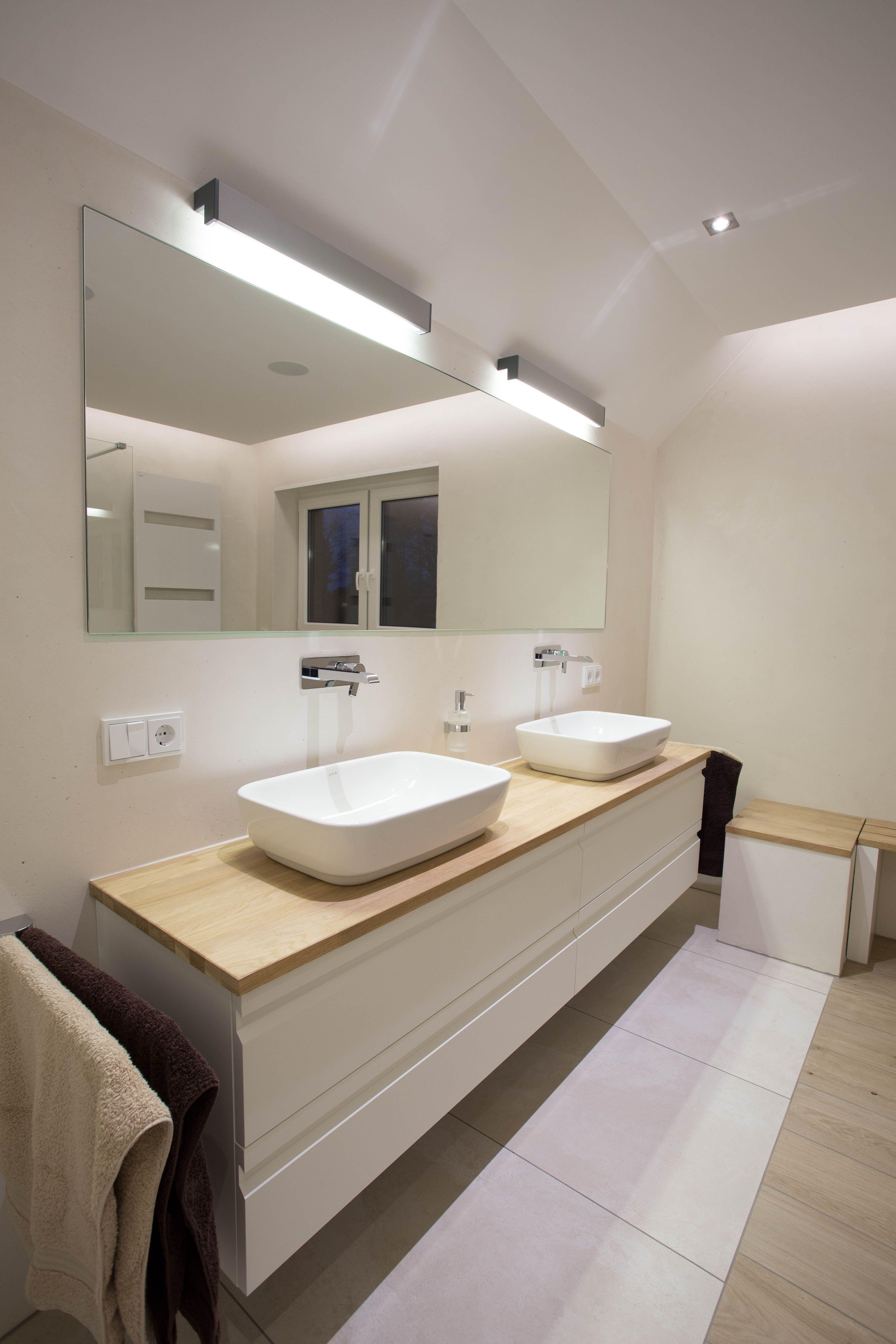 Mineralischer Edelputz Wohnung Renovieren Badezimmerideen Badezimmerspiegel Beleuchtung