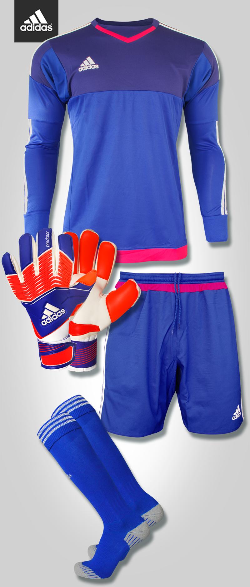 Goalkeeper Set Adidas Top 15 Completo per portieri Guantes De Portero  Adidas 6bfb023aba0