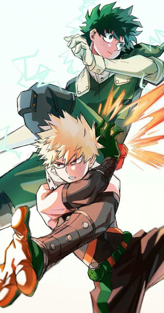 Edredon Anime.Bakugou X Midoriya My Hero Academia Art Bakugou