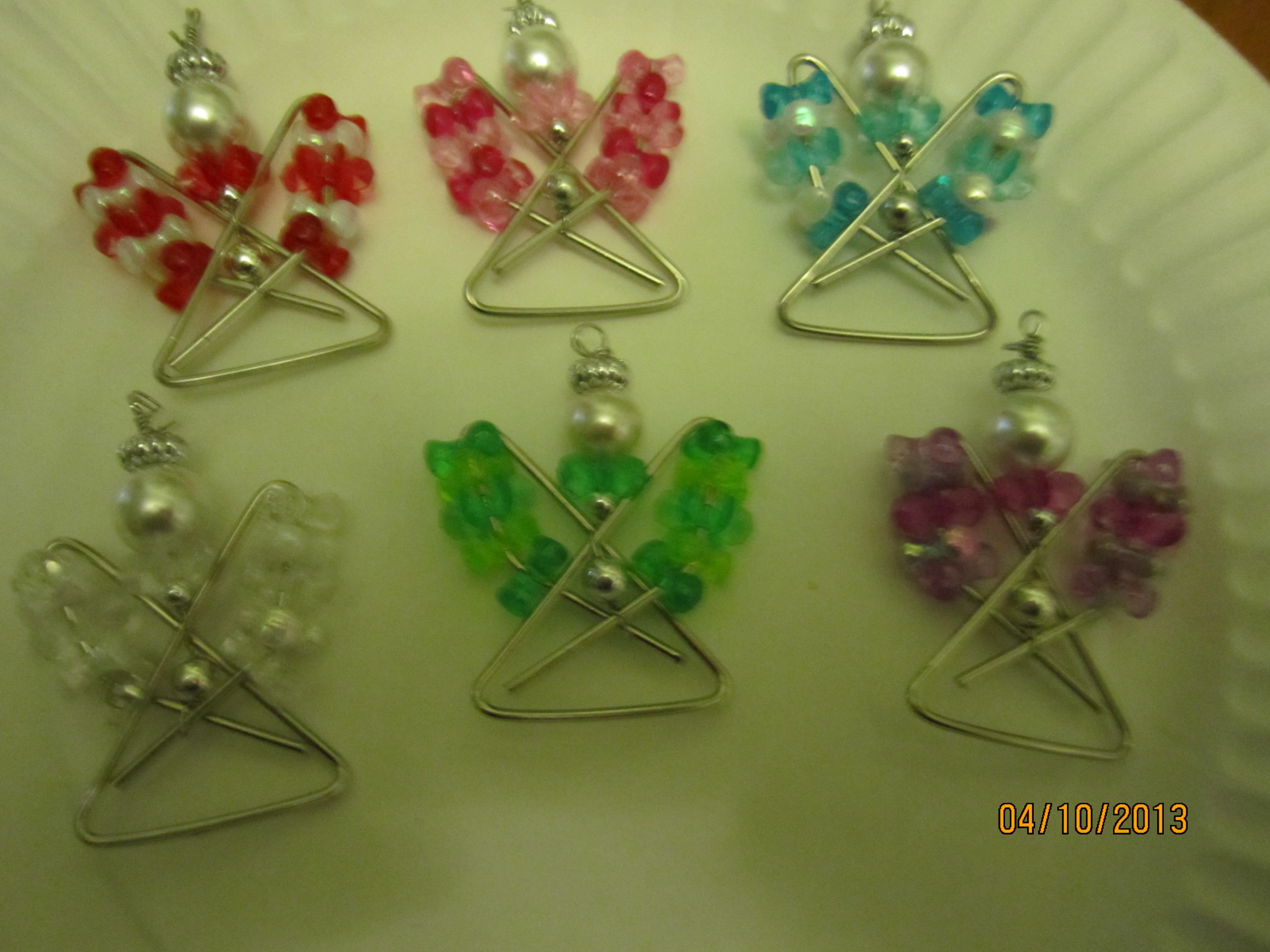 paperclip angels Christmas angel crafts