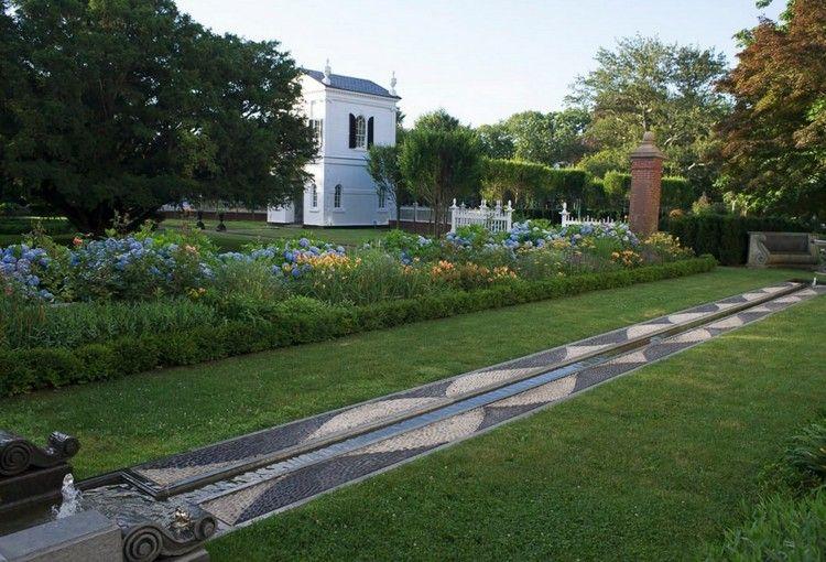 Wasser Im Garten 20 Ideen Fur Gartengestaltung Mit Bachlauf Allee De Jardin Jardins Amenagement De Jardin Moderne