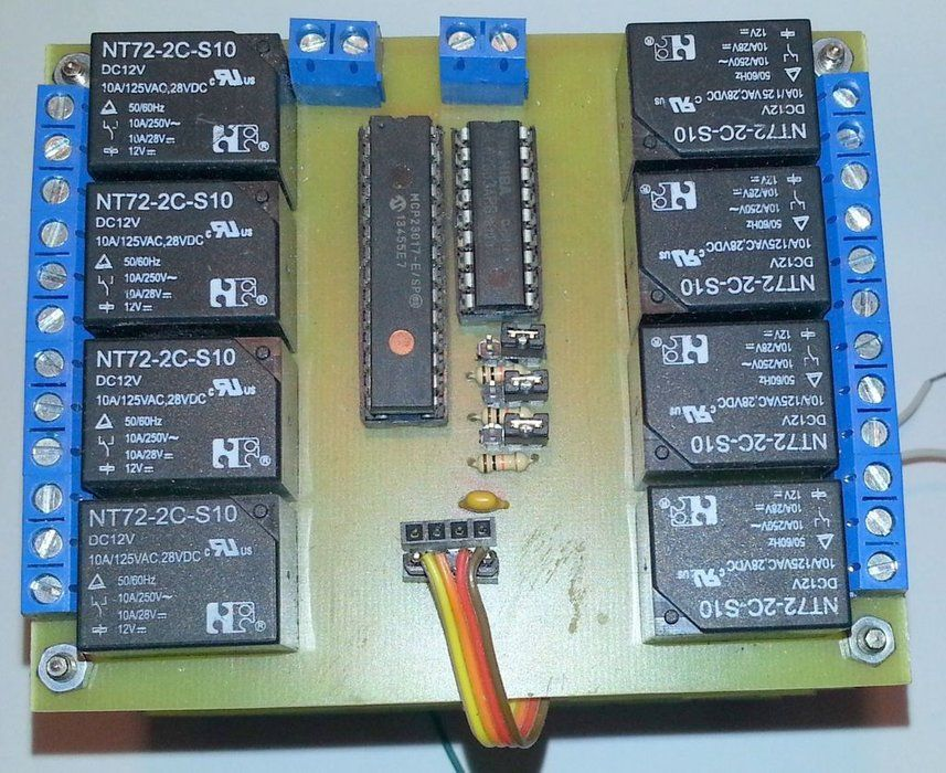 I2C Relay Board | Ardunio projects | Arduino, Electronics