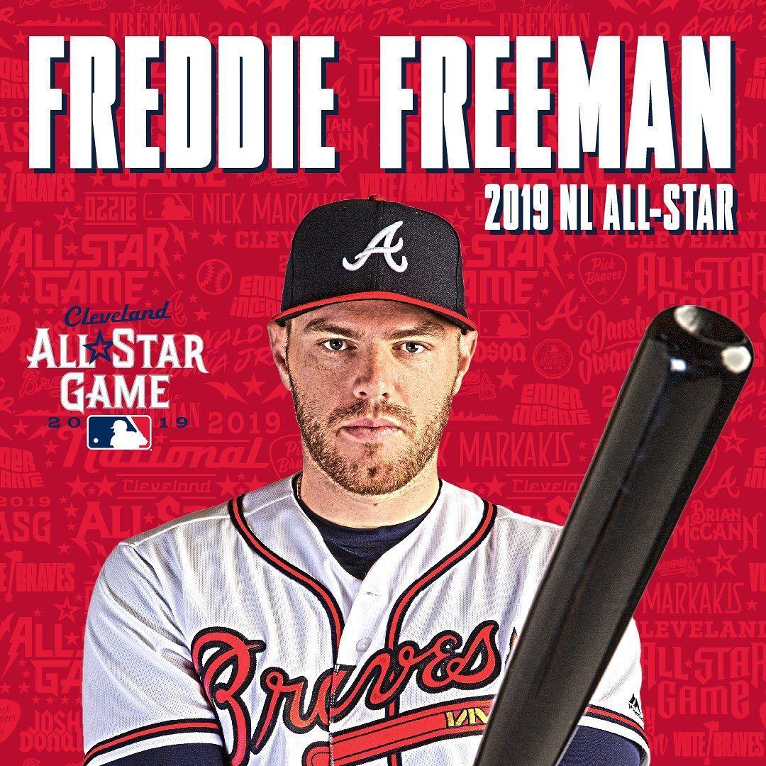 Atlanta Braves S T A R T E R Congrats Freddie With Images Atlanta Braves Atlanta Braves Baseball Braves