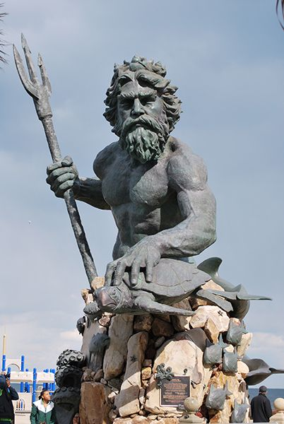 This Is The Largest Sculpture Statue King Neptune That I Ve Ever
