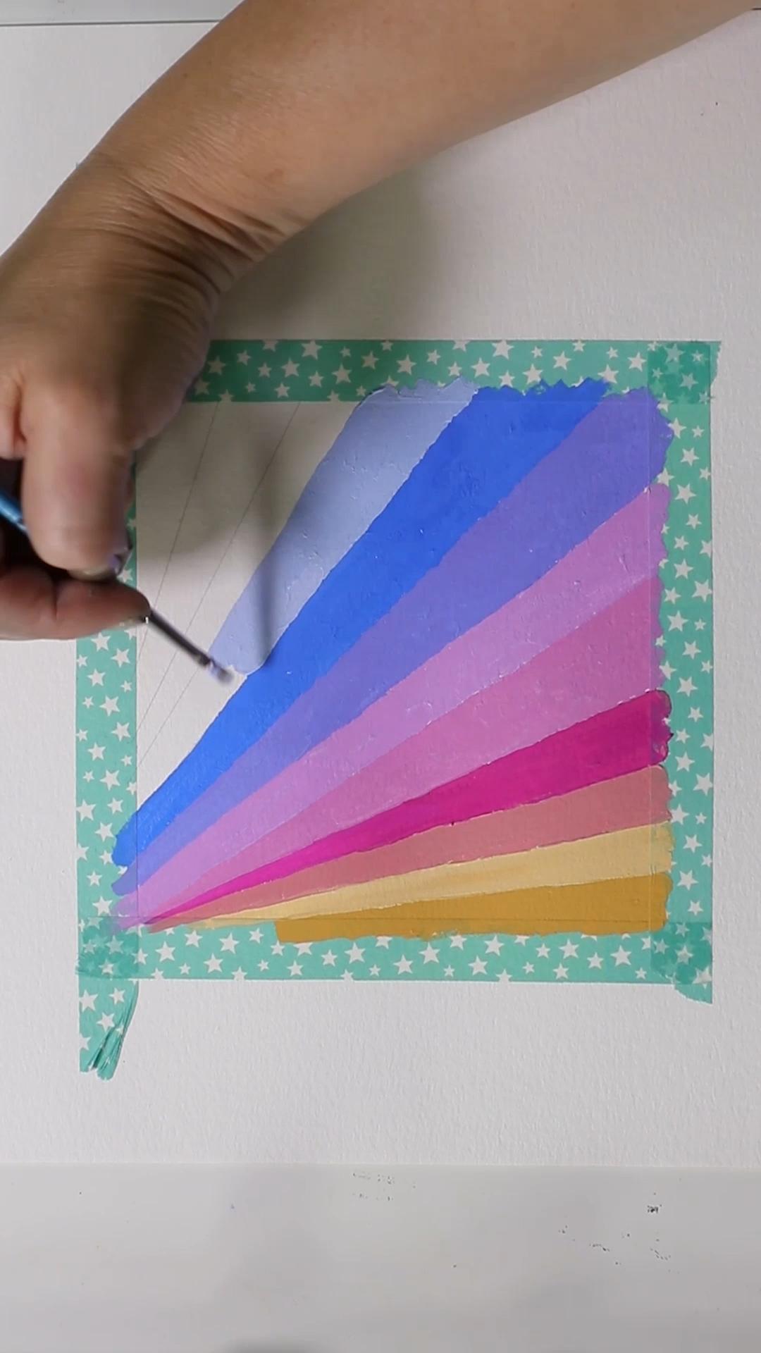 Gouache Stripes by Josie Lewis