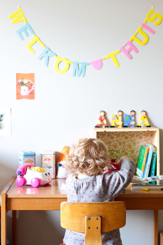 Deco Kids / Le petit bureau dans le salon | - Kids Room - | Pinterest