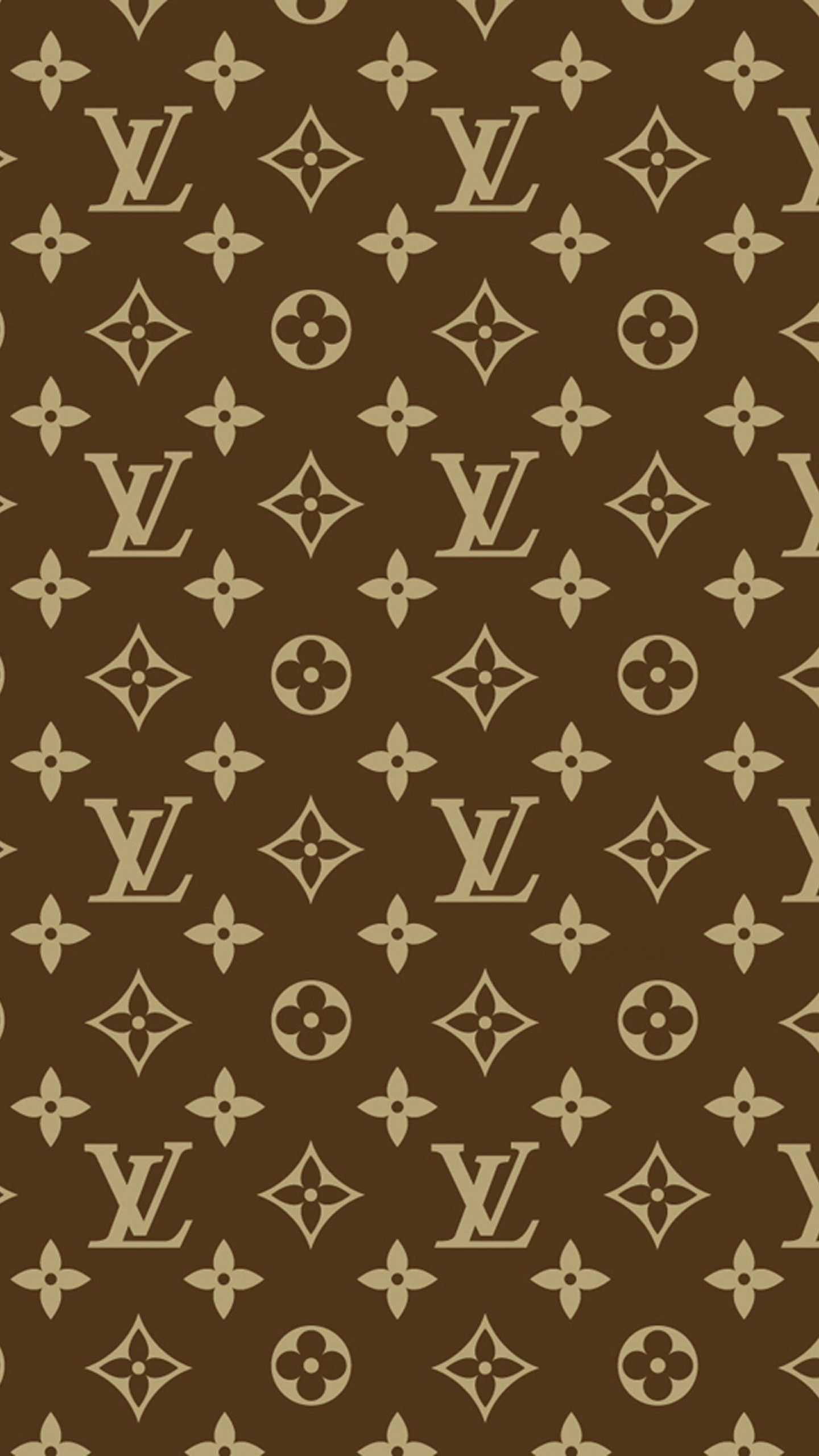 Wallpaper iphone louis vuitton - Louis Vuitton Brown Galaxy Note 4 Wallpapers