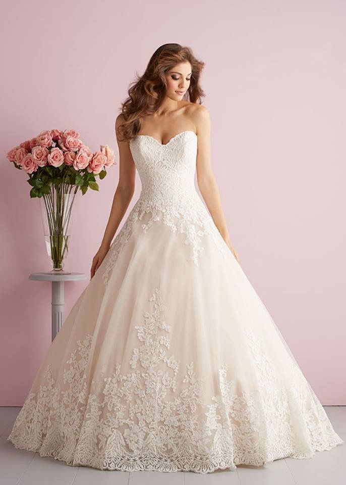 Princess sweet heart neckline wedding gown | Dresses | Pinterest ...