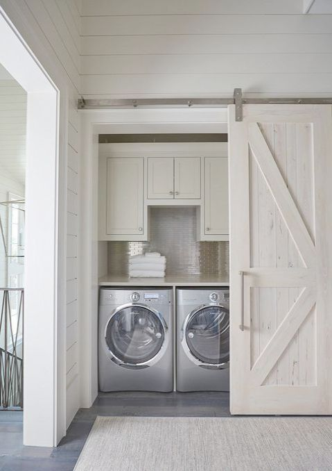 Check It Out Nautical Interior Design Definition Collect Laundry In Bathroom Laundry Room Storage Hidden Laundry