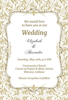 Free Wedding Invitations Online | Wedding Invitations Free Maco Ibaldo Co