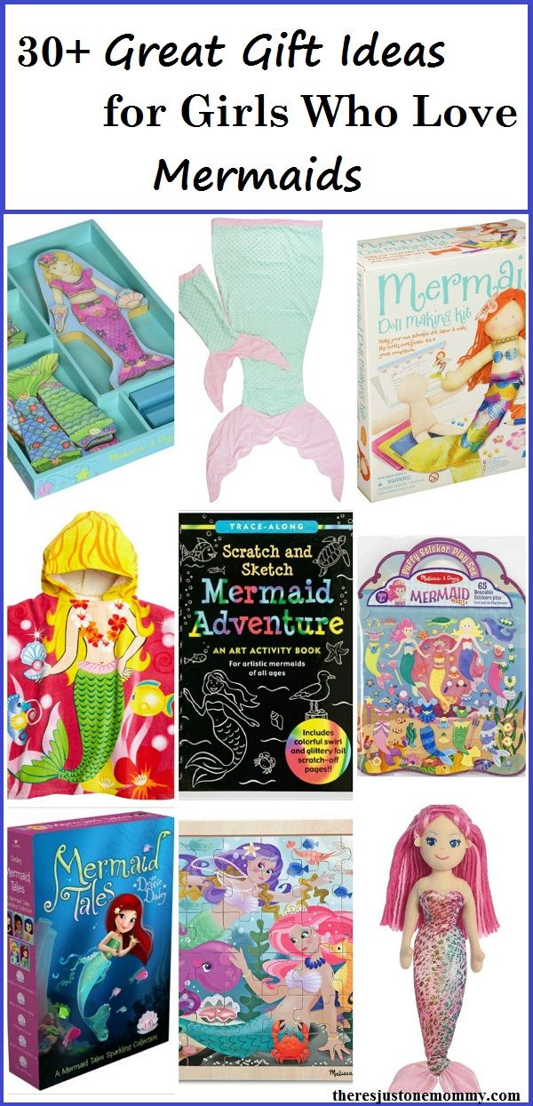 The Ultimate List Of Mermaid Gifts For Girls Mermaid Gifts