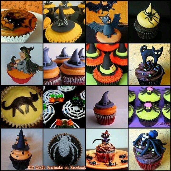Halloween Cupcake ideas Awesome Cake and Cupcake Inspiration - cupcake decorating for halloween