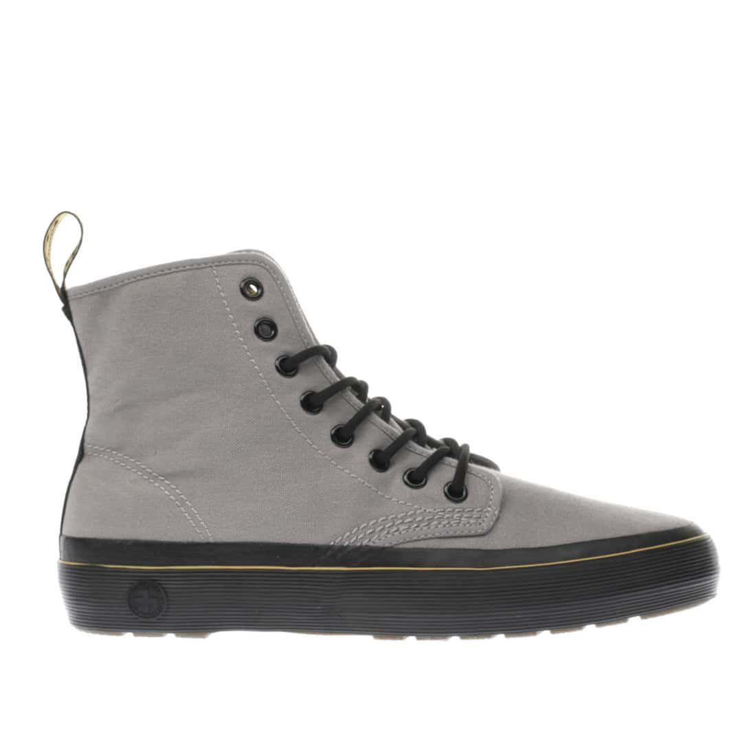 womens grey dr martens monet 8 eye boots