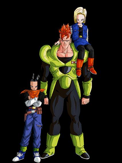 Android 16 17 18 Render 2 Dokkan Battle By Maxiuchiha22 On Deviantart Dragon Ball Super Dbz Characters Dragon Ball Wallpapers
