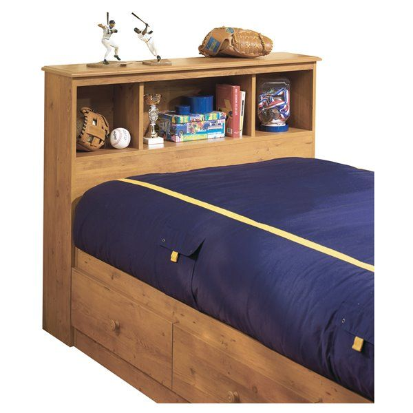 South Shore Furniture Little Treasures Bookcase Headboard Twin