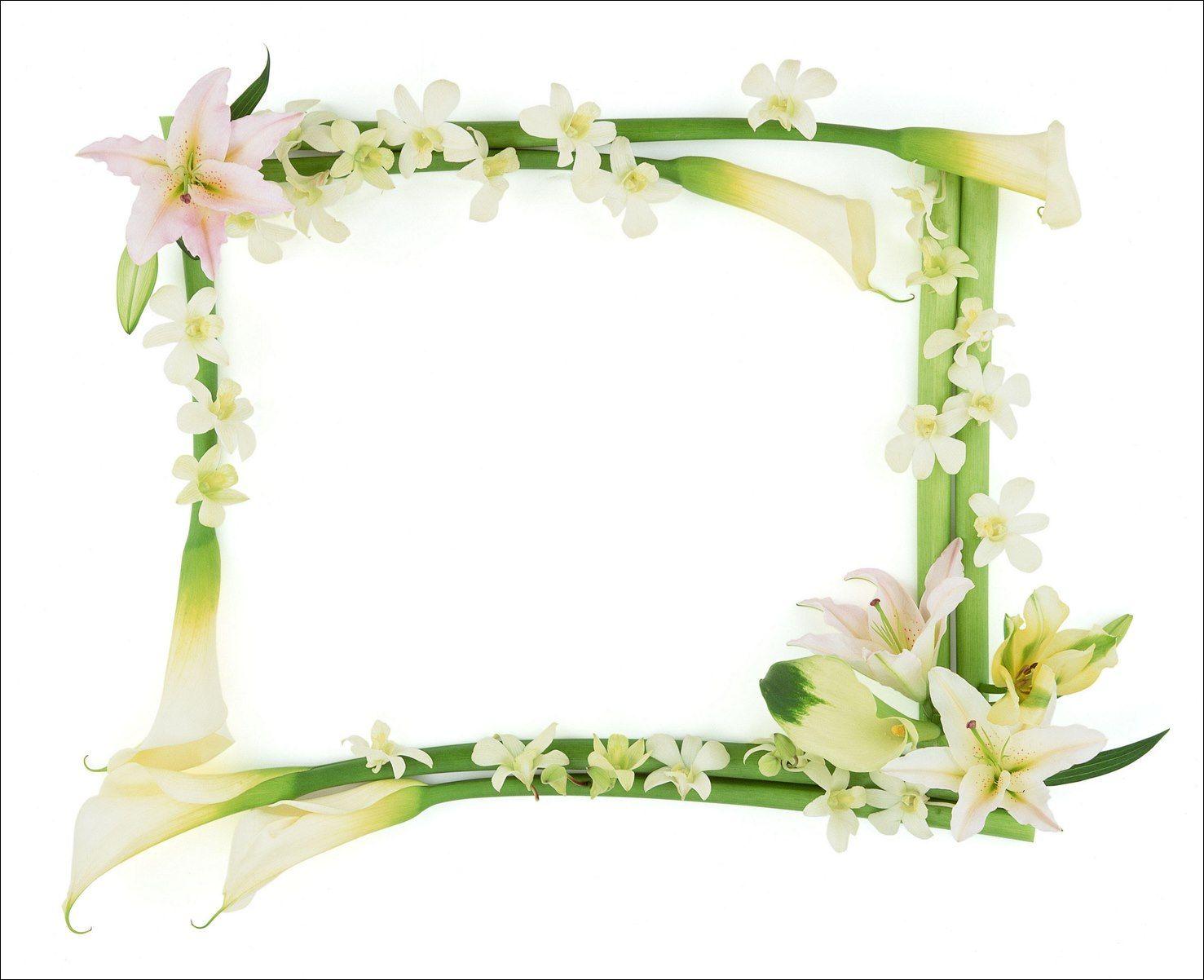 Marcos para fotos marcos para foto con flores - Cornici foto design ...