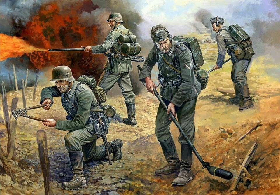 1941-1945 Deutsche Infanterie in Winteruniform 1:72 Zvezda 6198