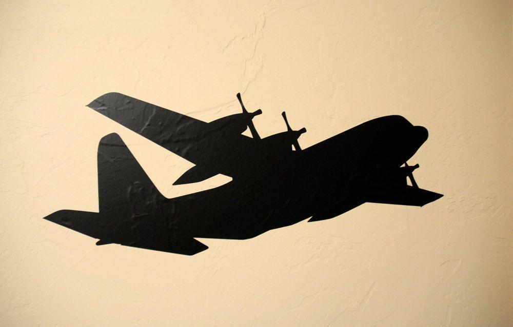 C130 Airplane - Vinyl Wall Decal. $14.99, via Etsy. | Kid\'s Room ...