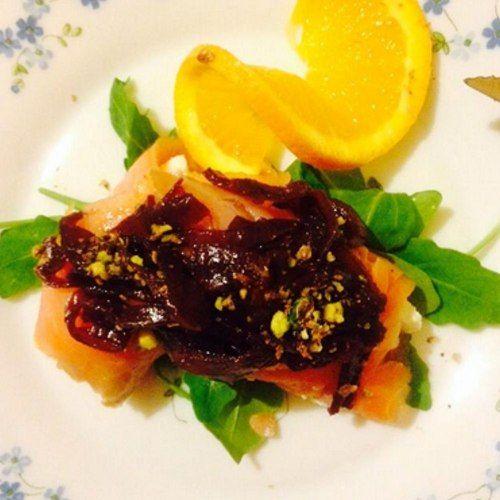 Ricetta: il cannolo di salmone affumicato