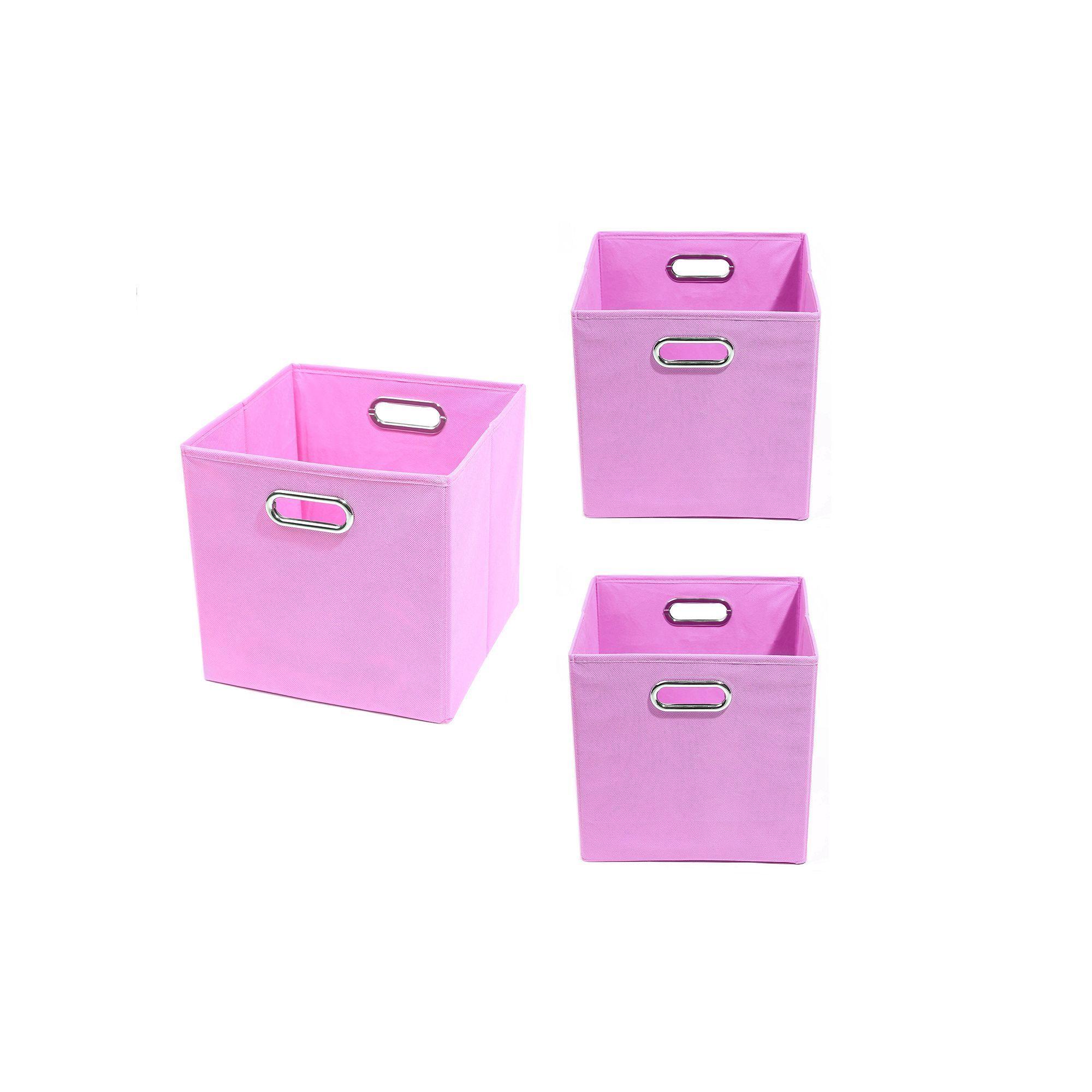 Modern Littles 3pc. Solid Storage Bin Set Storage bins