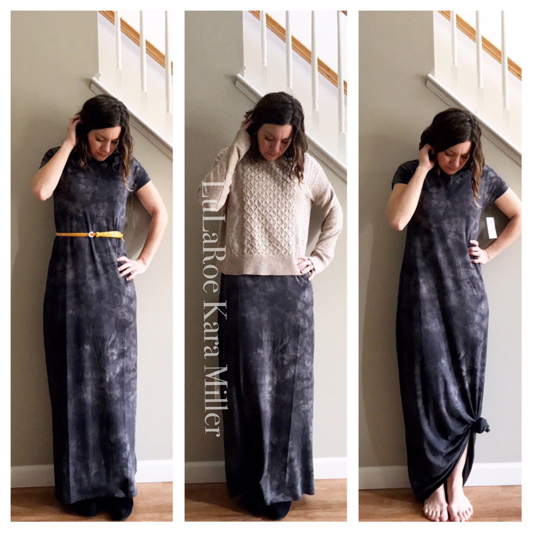 e43133bebf930c Ways to style a LuLaRoe Maria Dress! With a belt, with an oversized cropped