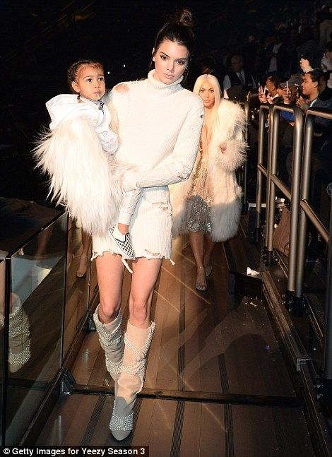 c38c9c6a96 Get all the details from Kanye West s Yeezy Season 3 fashion show  dailymail