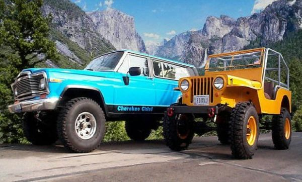 Trails West Customer Rides Jeep Truck 4x4 Columbus Ohio Us Beautiful Jeep Grand Wagoneer And Cj Jeep Suv Jeep Jamboree Jeep