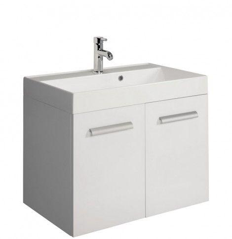 Design 70 Unit & Basin White in Furniture Bauhaus
