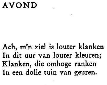 Paul Van Ostaijen Gedichten Woorden Boeken