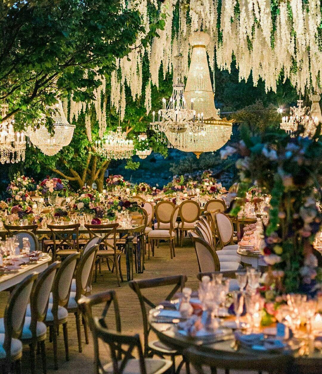 Enchanted Garden Wedding theme wedding
