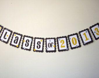 cute diy graduation banner