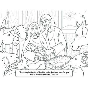 Free Coloring Page Savior Born Luke 2 1 Coloring Pages Free