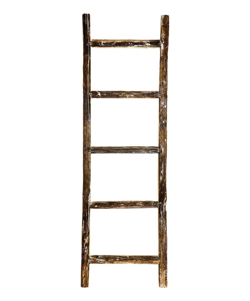 Another great find on #zulily! Vintage Wooden Ladder by ...