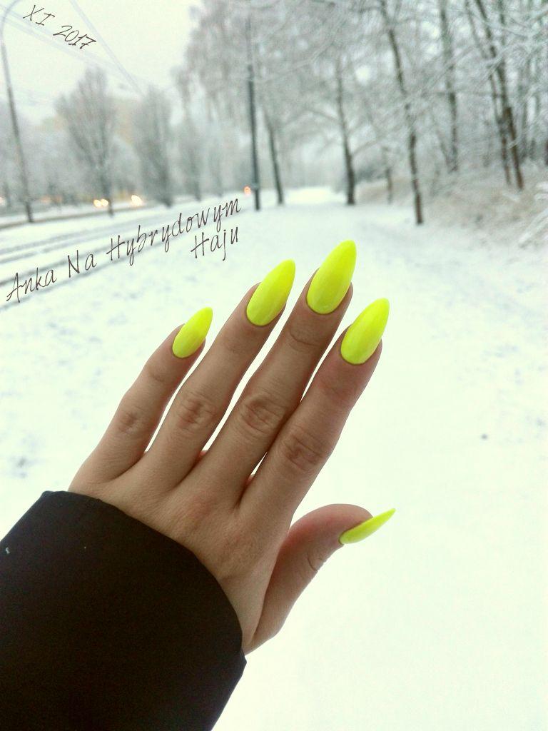 Paznokcie Manicure Hybrydy Pazurki Ankanahybrydowymhaju Nails