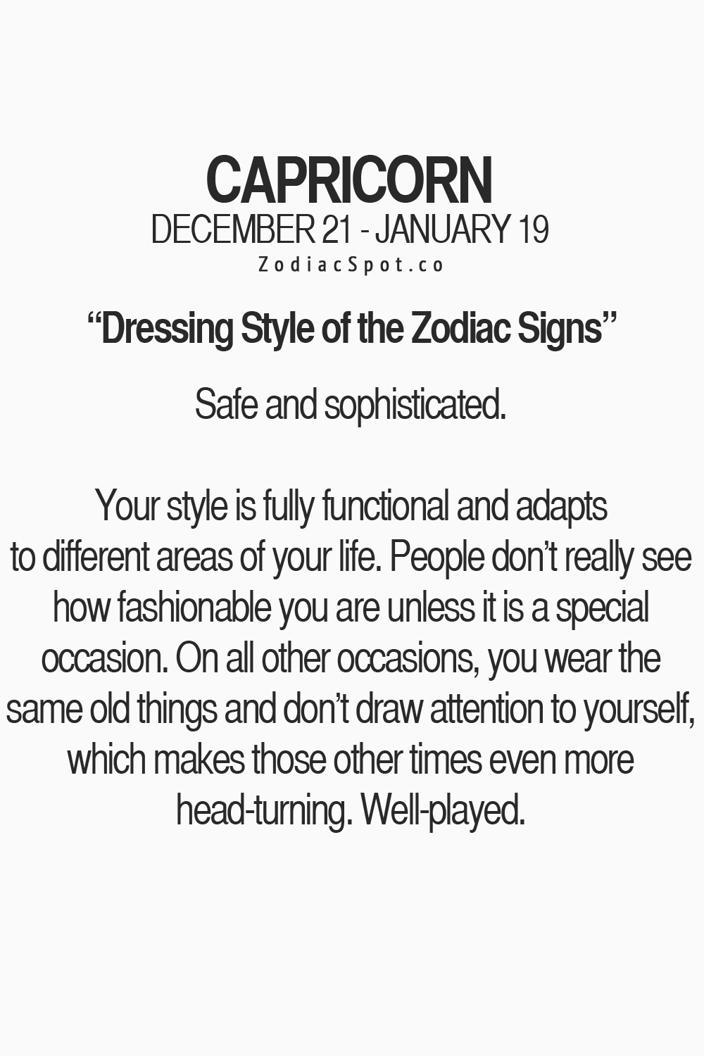 Signs capricorns get along with